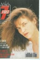 "TELE 7 VIDEO  N° 43  "" JANE BIRKIN  "" -  JANVIER 1990 - Télévision"