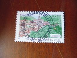 OBLITERATION RONDE  SUR TIMBRE GOMME ORIGINE YVERT N°4643 - France