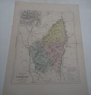 @ ANCIENNE CARTE ETAT MAJOR DEPARTEMENT 07 ARDECHE AVANT 1912 PRIVAS - Maps