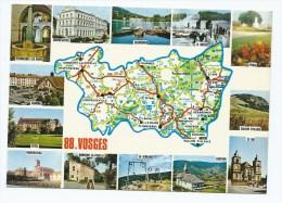 CP CHARMES, VITTEl, NEUFCHATEAU, VENTRON, ST DIE, BALLON D'ALSACE, EPINAL, LA BRESSE, GERARDMER, CONTREXEVILLE VOSGES 88 - France