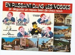 CP EN PASSANT DANS LES VOSGES, JE DEGUSTE UN REPAS BIEN DE CHEZ NOUS, POTEE VOSGIENNE, GEROMOIS, LORIQUETTES, VOSGES 88 - France