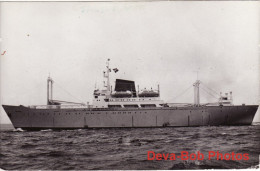 Ship Photo Soviet Fish Processing Vessel Skryplev Trawler - Boats