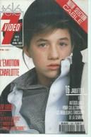 "TELE 7 VIDEO  N° 108  "" CHARLOTTE GAINSBOURG "" -    AVRIL 1991 - Télévision"