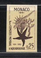 MONACO N° 551 ** Non Dentelé   Essai De Couleur - Monaco