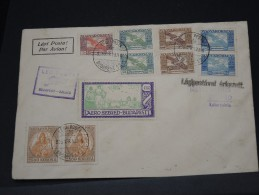 """HONGRIE - LETTRE PAR AVION  """" LEGI POSTA BUDAPEST/ SZEGED """" SUPERBE AFFRANCHISSEMENT 1913 + VIGNETTE  A VOIR   LOT P3174"""