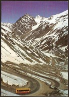 CHILE - PORTILLO - VIEW OF  CARACOLES HILLS -  POSTCARD  UNUSED - Chile