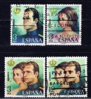 E+ Spanien 1975 Mi 2195-98 Juan Carlos I. Proklamation - 1931-Heute: 2. Rep. - ... Juan Carlos I