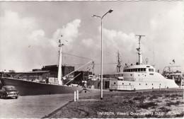RP Postcard Fisheries Exploration Ship Tridens Ijmuiden Holland Netherlands - Fishing Boats