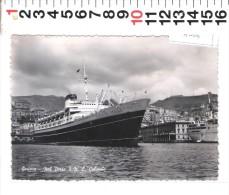 A 4006 GENOVA   NAVE C COLOMBO NEL PORTO - Genova