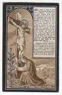Décès Guillaume CRUTZEN Veuf Marie-Joseph Kleintjens Gobcé-Blegny 1921 - Images Religieuses