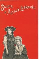 Saluts D' ALSACE LORRAINE  (carte Précurseur) - Sin Clasificación