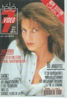 "TELE 7 VIDEO  N° 132  "" JANE BIRKIN  "" -    SEPTEMBRE 1991 - Télévision"