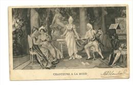 """Reproduction Du Tableau """"Chanteurs à La Mode"""". 1903 - Malerei & Gemälde"""