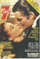 """TELE 7 VIDEO  N° 144  """" VIVIEN LEIGH / CLARK GABLE  """" -    DECEMBRE 1991 - Télévision"""