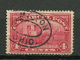 (cl 19 - P32) Etas Unis Ob. N° 4 -colis Postaux) (ref. Michel Au Dos) - Facteur Rural (cheval) - Prix 1,50 € + Port - Non Classificati