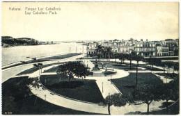 Habana - Parque Luz Caballero - Luz Caballero Park - Cuba
