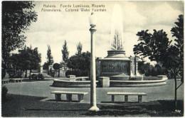 Habana - Fuente Luminosa, Reparto - Cuba