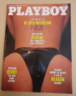 Revue PLAYBOY France - No 10 Mai 86 - Catherine De Rita Mitsouko Nue - ,Platini - Richard Berry - - People
