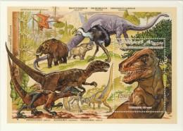 cm02b Comores 1994 Prehistoric Animals Dinosaur s/s Scott: 810