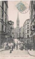 SAINT CLOUD 27 RUE DE L'EGLISE (BELLE ANIMATION) 1904 - Saint Cloud