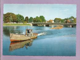 SUEDE  - Karlstad - Tingvallabron  - 2 Scans - Suède