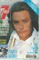 "TELE 7 VIDEO  N° 167  "" ALAIN DELON / GREGORY PECK "" -     MAI 1992 - Télévision"