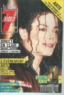 """TELE 7 VIDEO  N° 185  """" MICHAEL JACKSON """" -      SEPTEMBRE / OCTOBRE 1992 - Télévision"""