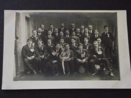 CONSCRITS Et Leurs AÎNES - Carte-photo - Vers 1920 - A Voir ! - Militaria