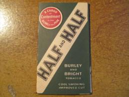 Feuilles De Papier à Cigarette US 2eme Guerre Originales ( Half And Half) - Around Cigarettes