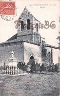 (33) Pujols Sur Ciron Par Preignac - L'Eglise - 2 SCANS - Francia