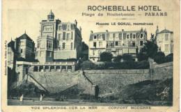 PUBLICITE .... ROCHEBELLE HOTEL A PARAME - Publicité