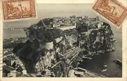 Depts Divers- Monaco - Ref  BB633 - Monaco - Le Rocher Et Le Palais Princier - Carte Bon Etat - - Palais Princier