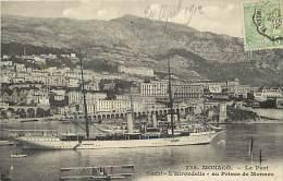 """Depts Divers- Monaco - Ref  BB631 - Monaco -  Yacht """" L Hirondelle """" Au Perince De Monaco - Yachts - - Port"""