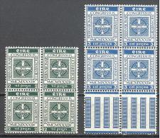 Irlande: Yvert N°60/1**; Le Bloc De 4; Fraicheur Postale; Voir Scan - 1949-... Republic Of Ireland