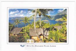 Polynésie Française / Marquises / Hiva Oa - Hiva Oa Hanakee Pearl Lodge - Timbrée / Compostée - Polynésie Française