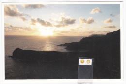 Polynésie Française / Marquises / Hiva Oa - Lever De Soleil à Motu Ua-n°9-Timbrée / Compostée - Polynésie Française