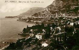 Depts Divers- Monaco - Ref  BB625 - Monaco - Vue Prise De Roquebrune - Carte Bon Etat - - Non Classés