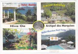 Polynésie Française / Marquises / Hiva Oa - Hotellerie à Hiva Oa - N° 10 - Polynésie Française