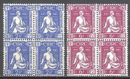 Irlande: Yvert N° 102/4**; Bloc De 4; Fraicheur Postale; ; Voir Scan - 1949-... Republic Of Ireland