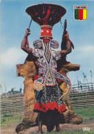 AFRIQUE,cameroun,danseur Bamiléké,dancer,envouteme Nt,sorcèlerie,gris Gris,danceur Masqué,rare - Cameroun