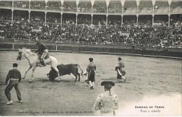 12358. Postal Fieta De Toros BIATTITZ (Francia) - Toros