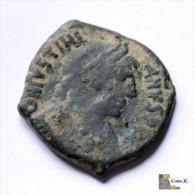 Imperio Bizantino - Justiniano I - Follis - 538-544 DC. - Bizantinas