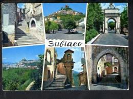 P1044 Subiaco (Roma) _ MULTIPLA _ MULTIGRAF TERNI N. 163 Da Fotocolor Kodak Ek. - Altre Città