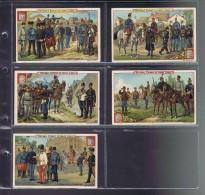 liebig 5  chromos langue belge s 302  Oesterreich... Arm�e Austro-Hongroise