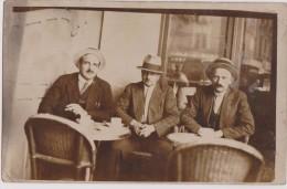 Carte Photo,41,loir Et Cher,pres Chambord,café Comptoir,bistrot,bar,vue Interieure,habitant,client,chaise D´époque