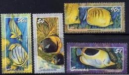 SAMOA - 2004 - Faune Marine, Poissons Tropicaux  - 4 Val Neufs // Mnh - Samoa