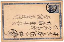 JAPAN 1928 - Ganzsache Auf Pk - Briefe U. Dokumente