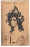Exposition De La Coiffure, Anvers 1909 - 'L'Amour' - Phototypie G.Hermans, Voir Scans - Fashion