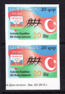 AZE- 55 AZERBAIJAN-2012 MILLI OLIMPIYA KOMITASAMIN STARTING PRICE FOR THE ONE SET