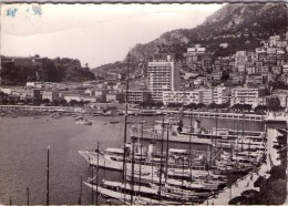 Monaco.. Le Port De Monaco.. Le Rocher.. Bateaux.. Voiliers - Hafen